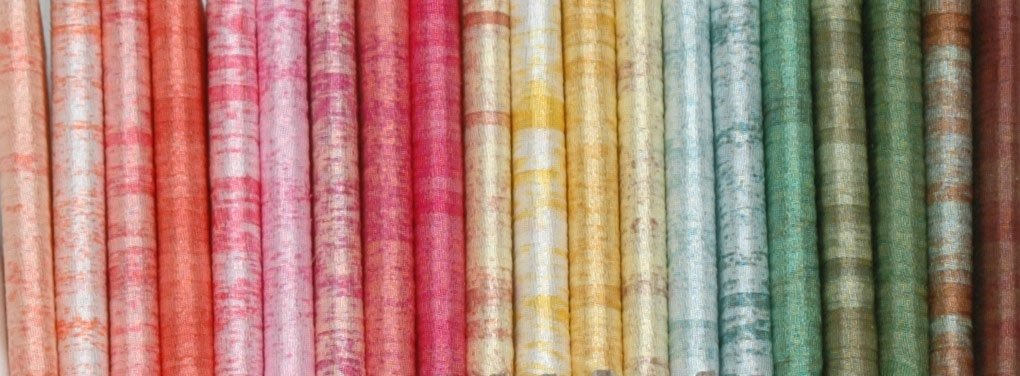 River Silk Ribbons:20 colors-4mm- Hibiscus Group