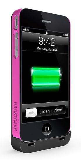 Boostcase - Carcasa con batería extraíble para iPhone 4 y 4S ...