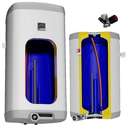 80 L litros eléctrica de calentador de agua calentador de agua de forma de pared de
