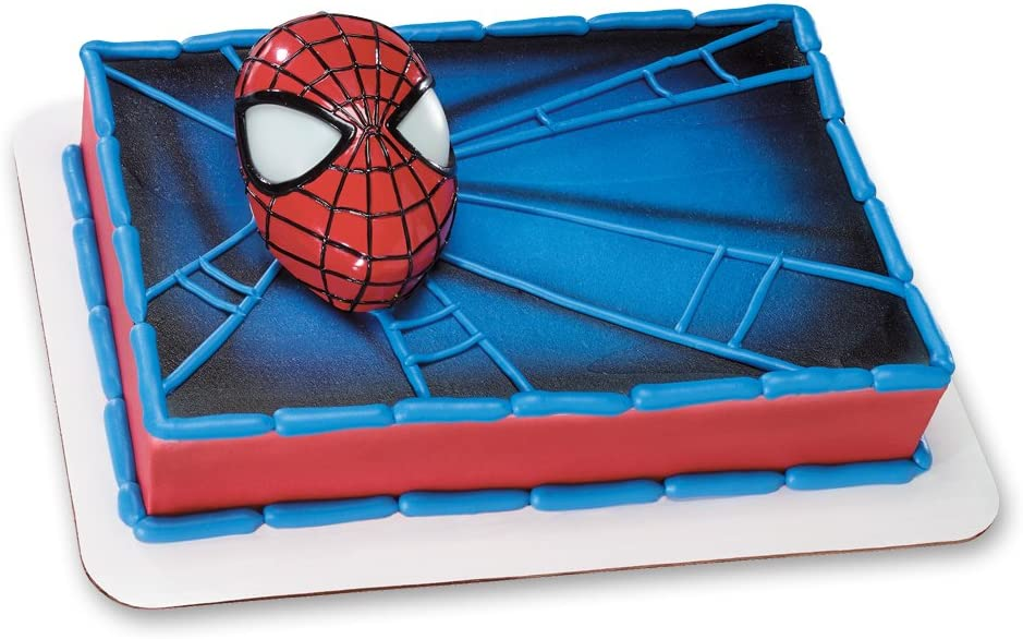 Groovy Amazon Com Decopac Spiderman Light Up Eyes Decoset Cake Topper Funny Birthday Cards Online Inifofree Goldxyz