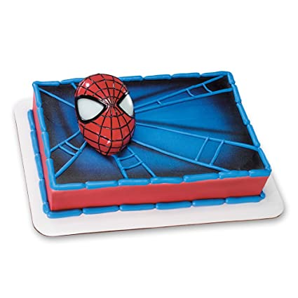 Amazon Decopac SpiderMan Light Up Eyes DecoSet Cake Topper