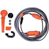 Vehicle-Mounted Shower Kit, 12V Car Plug Shower Camping Shower Outdoor Camp Shower Pump, Portable Camping Shower…