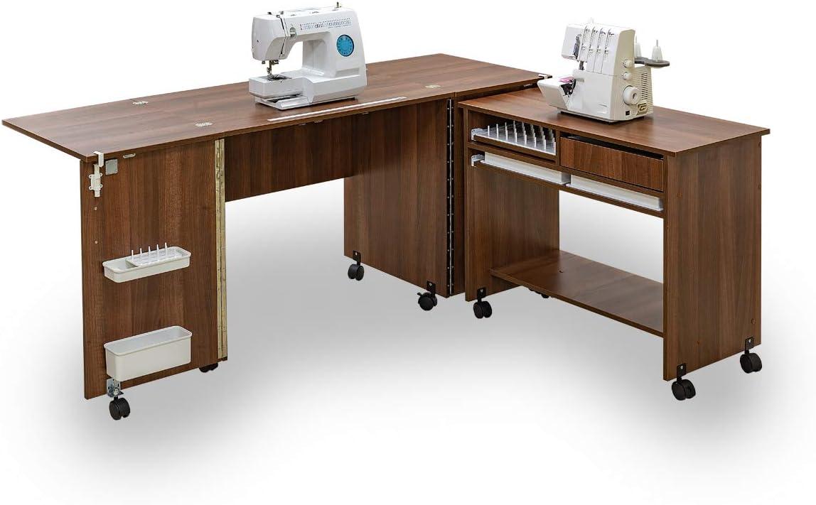 Comfort 7 | Mueble para máquina de coser | (Premium White): Amazon ...