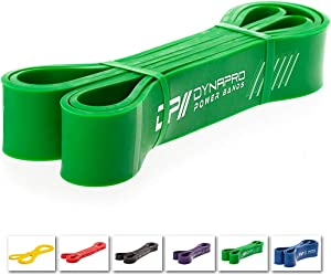 DYNAPRO Power Resistance Bands - Assisted Pull Up Band, Resistance & Stretch Band | Powerlifting Bands