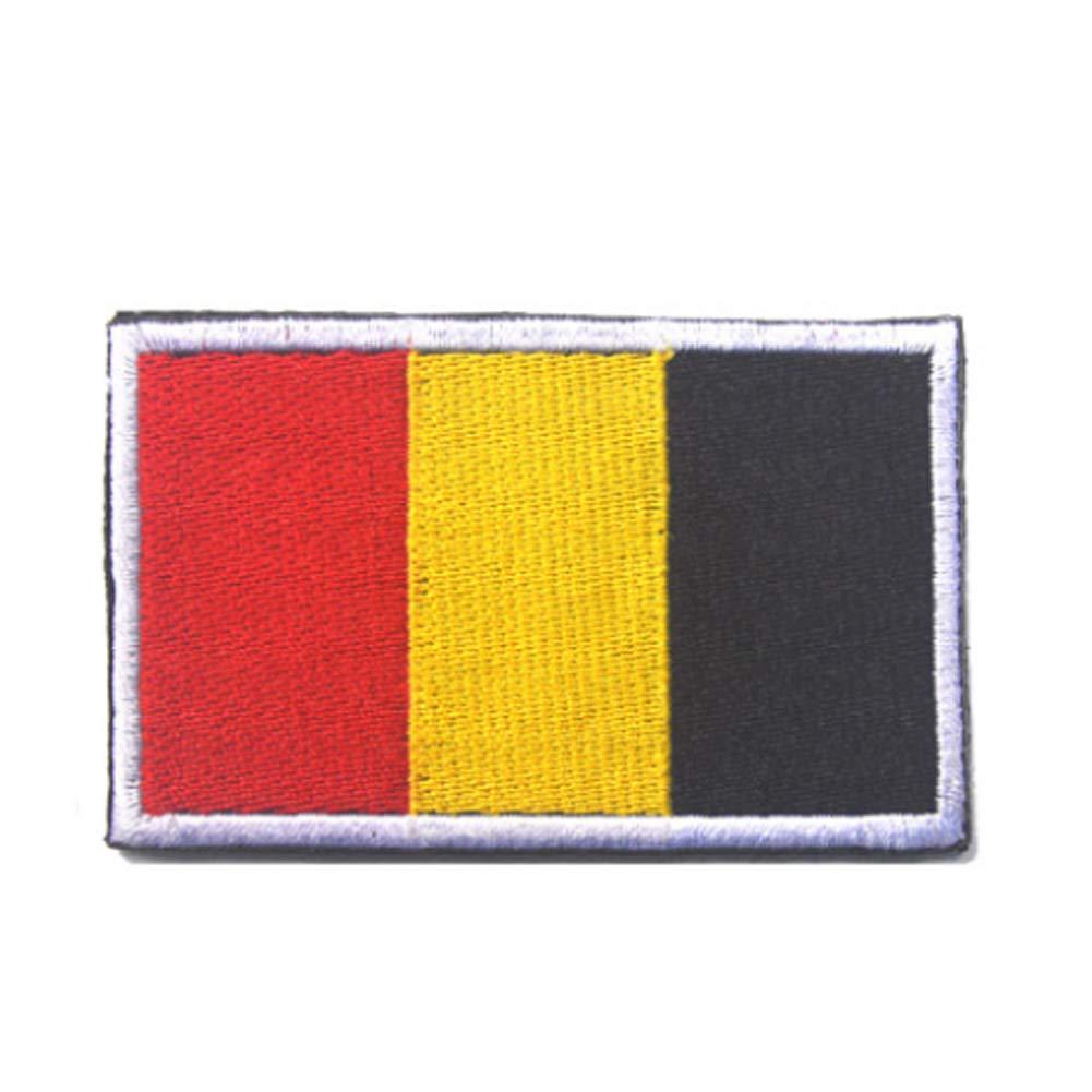 Bandiera da esterni bandiere bandiera patch ricamo Armband chic bandiera paesi Magic stickers Patches (Belgio) Hemore