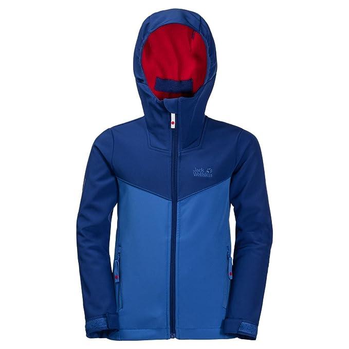 Jack Wolfskin Children B Wind Mill Road Jacket Windproof Water Resistant Softshell Jacket, Children's