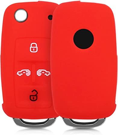Kwmobile Autoschlüssel Hülle Kompatibel Mit Vw Seat Elektronik