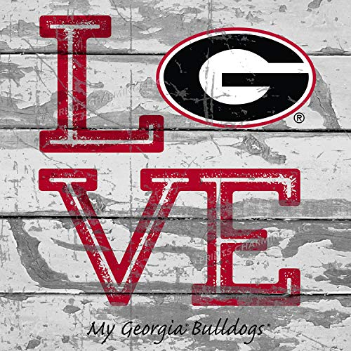 - Prints Charming College Love My Team Logo Square Georgia Bulldogs Unframed Poster 13x13 Inches