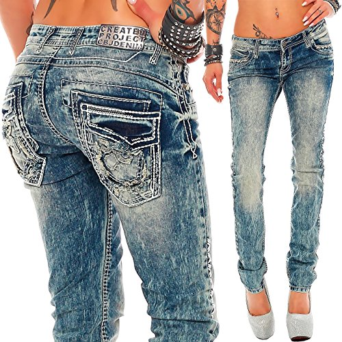 amp; Para 18 Vaqueros Baxx Cipo Mujer Modell Relaxed dBq0adnxW