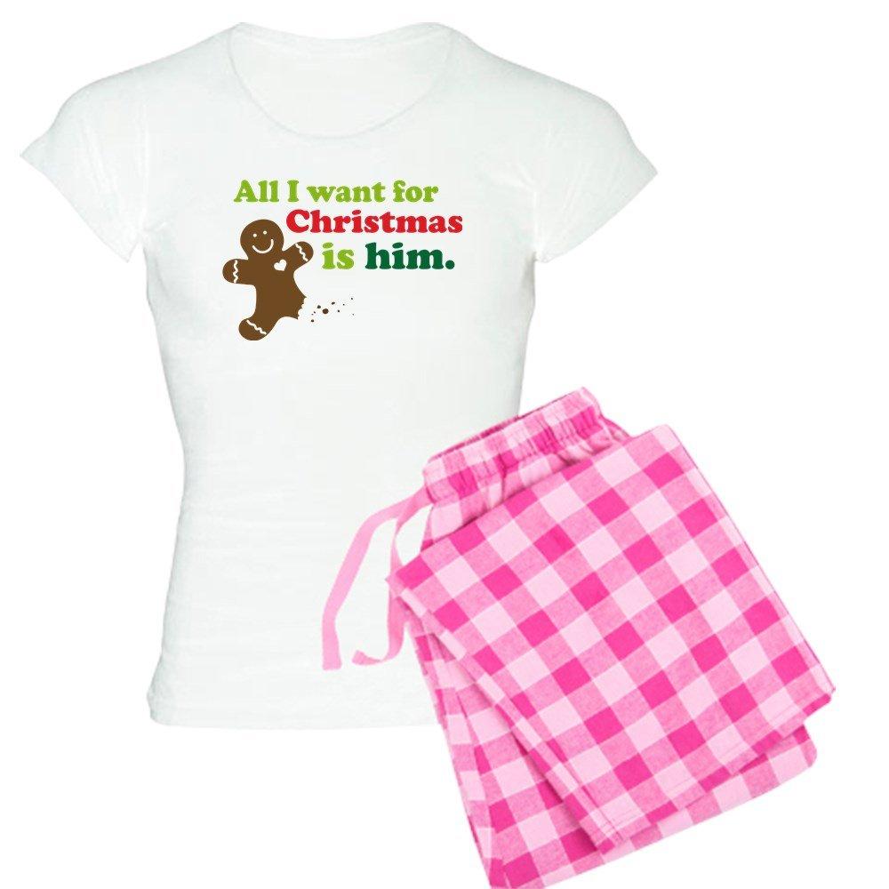 cc1865fedc5 Amazon.com  CafePress - Couples Funny Christmas - Womens Novelty Cotton  Pajama Set