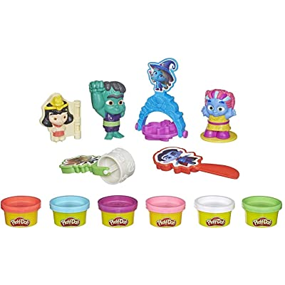 Play-Doh Super Monsters Moonlight Magic Toolset with 6 Non-Toxic Colors: Toys & Games