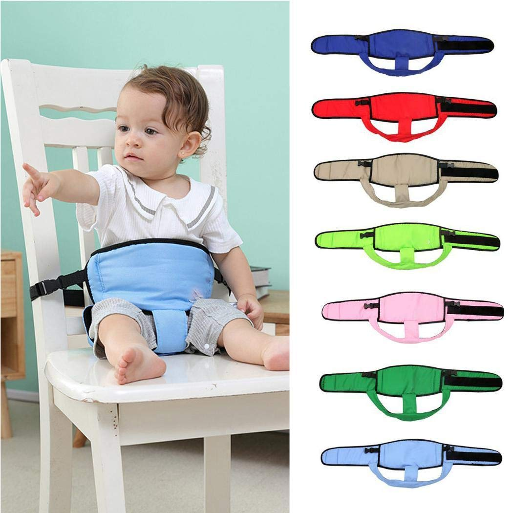Baby Chair Safety Belt, Portable Seat Stretch Wrap, Toddler High Chair Harness, Shopping Cart Secure Strap
