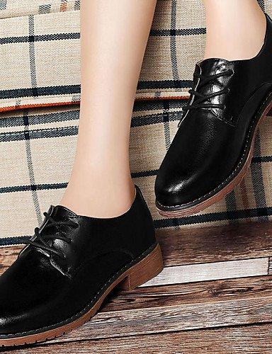 black Casual Negro khaki Oxfords uk6 uk6 Zapatos cn40 Bajo eu39 us8 Comfort mujer Caqui Tacón Trabajo 5 Semicuero ZQ black 5 Boda y 2016 eu39 cn40 Oficina uk6 5 5 de cn40 eu39 us8 5 us8 5 Aqg6w7
