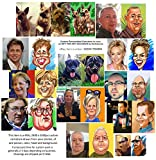 Custom Personalized Caricature in color, as GIFT FOR ANY OCCASION. PERSONALLY AND HANDMADE, 2480 х 3500px (4Mb), in 2 days, PRESENT, BIRTHDAY.