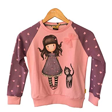 Santoro-London Sudadera Gorjuss Rosa (6)