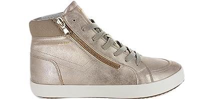 fb6e5cfc369f Geox Baskets Pour Femme Beige Beige  Amazon.fr  Chaussures et Sacs