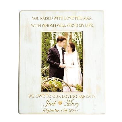 personalized picture frame rustic wooden wedding picture framebride groom framebridal shower