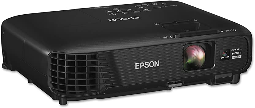 Epson 1264 Video - Proyector (3200 lúmenes ANSI, 3LCD, WXGA ...