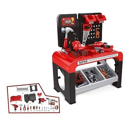 Amazon Com Tita Dong Kids Workbench Power Toy Set