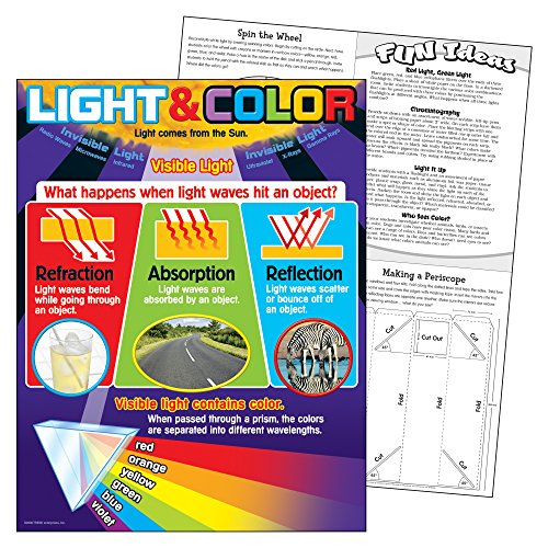 Trend Enterprises Inc. Light and Color Learning Chart, 17'' x 22'' by Trend Enterprises Inc (Image #1)