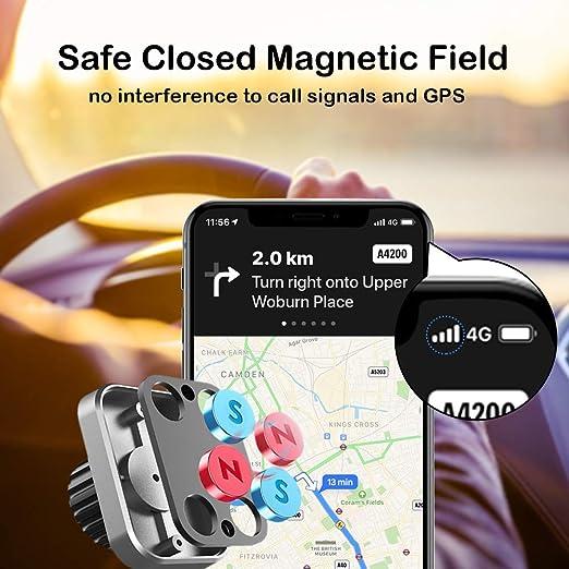 Ayada Handyhalterung Auto Magnet Upgrade 720 Drehbar Elektronik