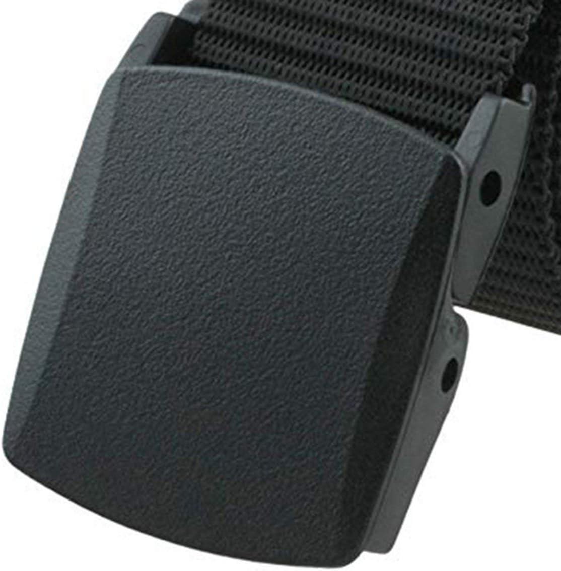 Funnyrunstore Universale in nylon Fibbia in plastica Cintura tattica Cintura da uomo Cintura tattica da esercito Moda Outdoor Militare Caccia Sport Cinturino nero