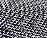 16'' x 48'' Stainless Steel Woven Mesh Sheet Diamond Pattern 16 gauge