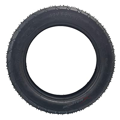 12.5 x 2.25 Tire - Commonly Used For Gas Scooters, Pocket Bikes, Mini Choppers, and Go Karts [3102] : Sports & Outdoors