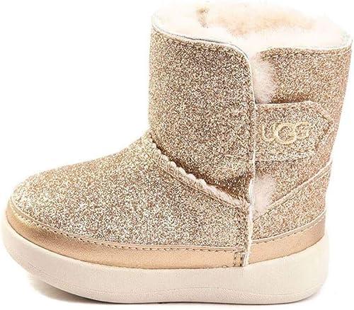 Keelan Glitter Fashion Boot, Gold