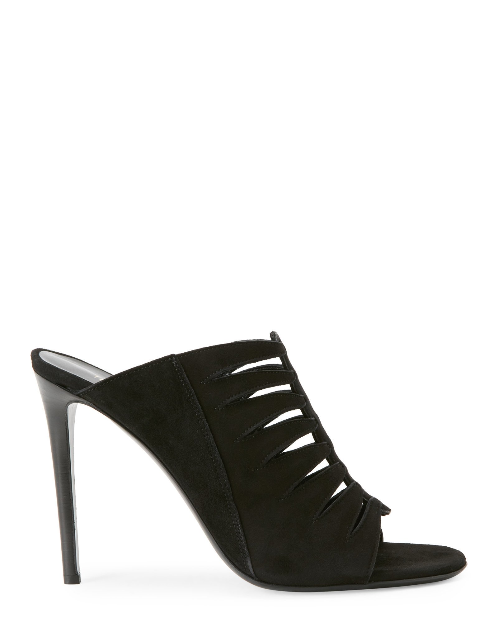 Tamara Mellon Chief Designer Jimmy Choo Phoenix Mules 11 Black