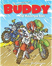 The Adventures of Buddy the Motocross Bike: The Official Coloring Book