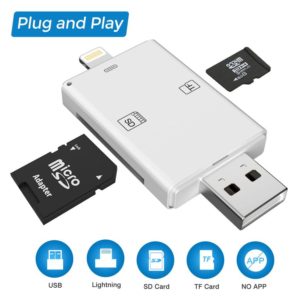 JJC memory card custodia impermeabilit/à porta schede di memoria per 16 Micro SD con moschettone