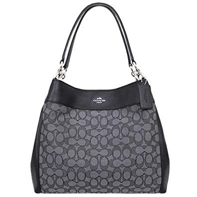 COACH Lexy Shoulder Bag In Outline Signature Khakichalk F - Payment invoice template free coach outlet store online free shipping