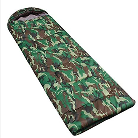 busl – Saco de dormir rectangular doble 10 algodón (650 G 200 x 75 Camping