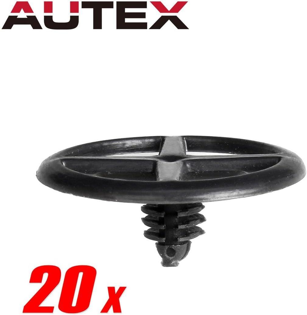 30pcs Nylon Door Trim Panel Clip for 2007-2012 Nissan Sentra Xterra Altima