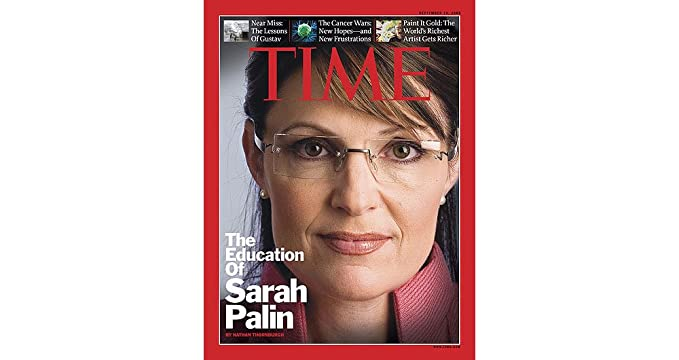 74a1fca562 Image Unavailable. Image not available for. Color  Sarah Palin s Authentic Kazuo  Kawasaki 704 Eyeglasses ...