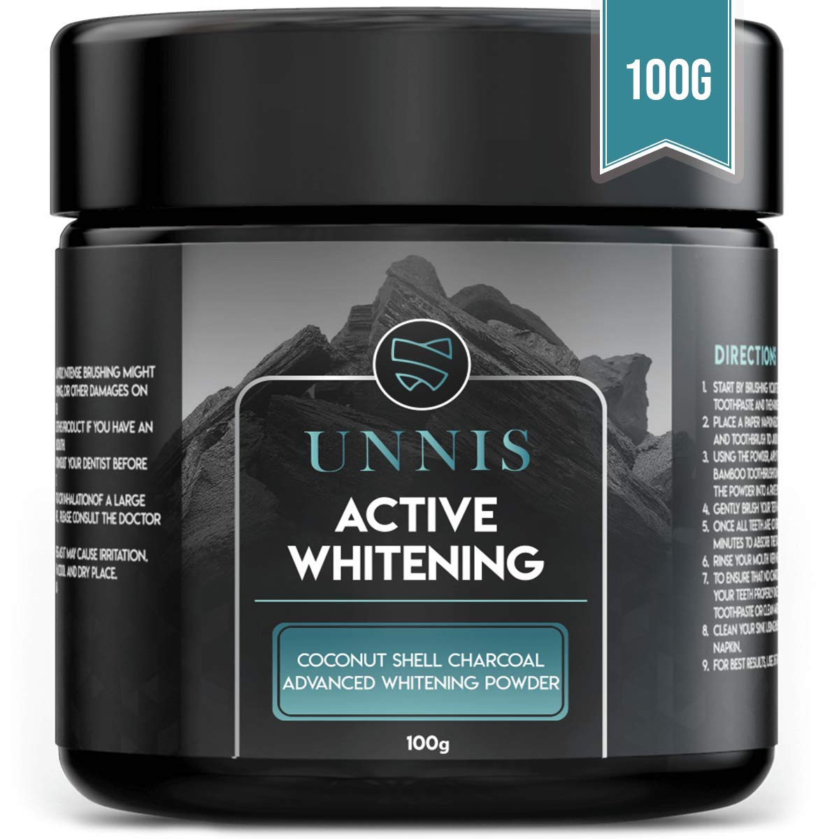 Amazon Com Activated Charcoal Teeth Whitening Powder Natural