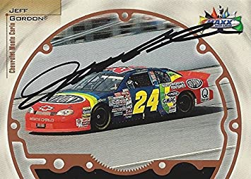 b9ecbebe44a AUTOGRAPHED Jeff Gordon 1999 Maxx Racing ( 24 DuPont Chevrolet Monte Carlo)  Hendrick Motorsports