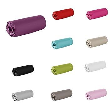 drap housse 80x200 coton Drap housse   80 x 200 cm   100% coton   57 fils   France: Amazon  drap housse 80x200 coton