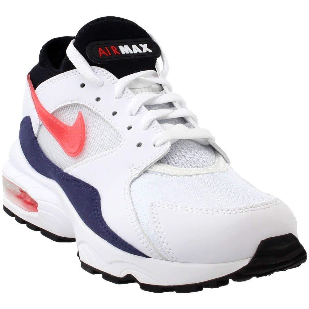 Bianco Nike Air MAX 93, Hausschuhe de Gimnasia para Hombre