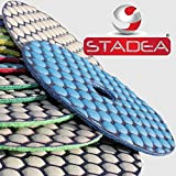 4 1 2 grinder tile blade - 4 inch granite polishing pads tool - 1 Pc Grit 100 by Stadea