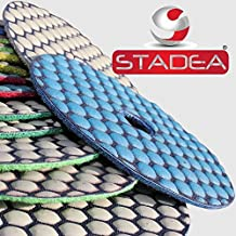 granite diamond polishing pads 4 inch - 1 Pc Grit 200 By Stadea
