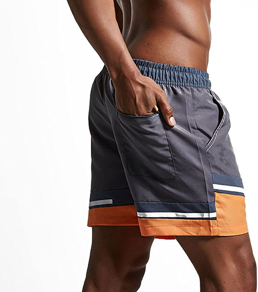 Zhuhaitf Mens Summer Beach Swimming Casual Boxer Shorts Sports Underpants