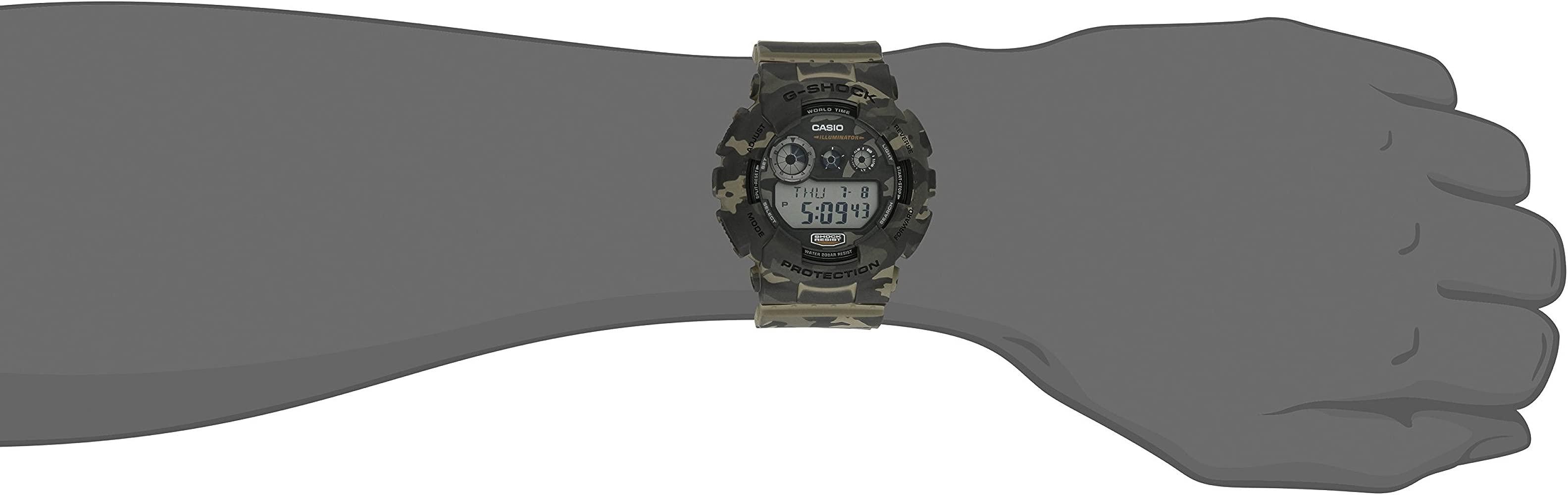 G Shock GD 120CM 5CR Reloj