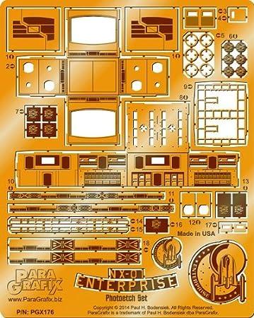 Paragrafix - Star Trek NX-01 Enterprise Photoetch Set ... on