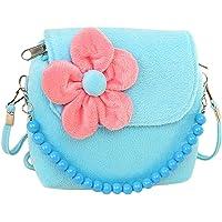 Bullidea Kids Little Girl 's Shoulder Bag Beaded Handbag Cute Princess Package Coin Purse Velvet for Best Gift to 1-6 Years Old