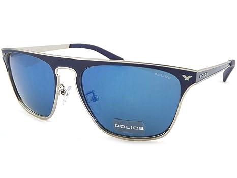 Police S8958 Gafas de sol Plata 502B Hombre: Amazon.es: Ropa ...