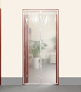 Transparent Magnetic Thermal Insulated Door Curtain Enjoy Your Cool Summer And Warm Winter With Saving You & CIYA Magnetic Thermal Insulated Door Curtain Enjoy Your Cool ... Pezcame.Com
