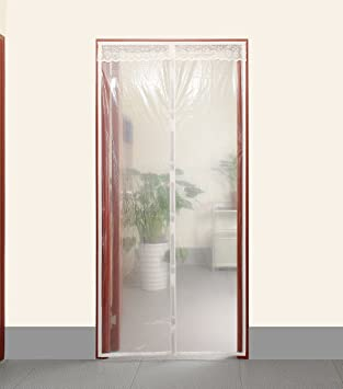 Transparent Magnetic Thermal Insulated Door Curtain Enjoy Your Cool Summer And Warm Winter With Saving You & Transparent Magnetic Thermal Insulated Door Curtain Enjoy Your ... Pezcame.Com