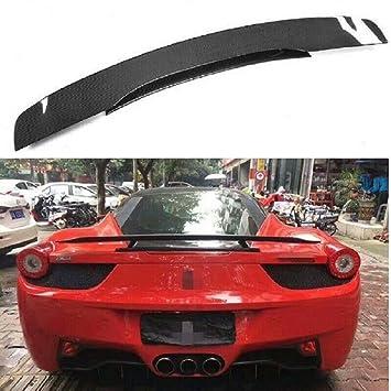Karbonfaser Heckspoiler Für Ferrari 458 Spider 11 13 Amazon De Auto